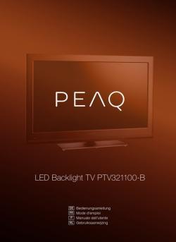 PEAQ PTV321100-B LED