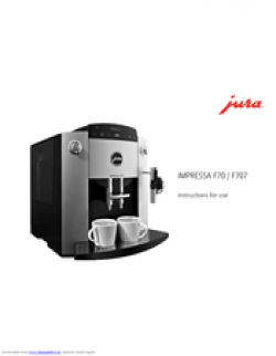 Jura IMPRESSA F707